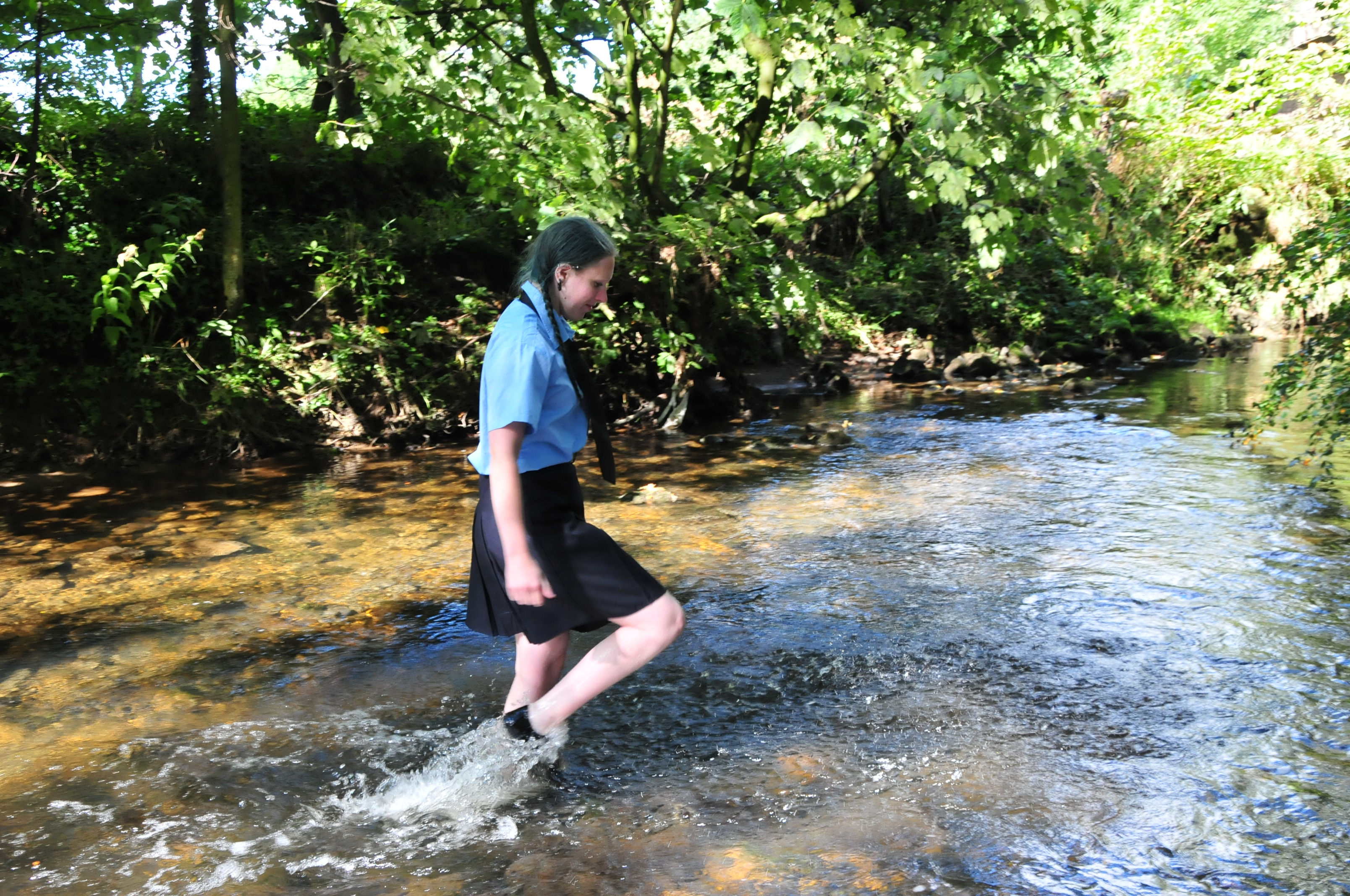 School Uniforms In The River Purity And Felicity Give